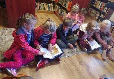 Narodowe Czytanie w Przedszkolu w Sabniach